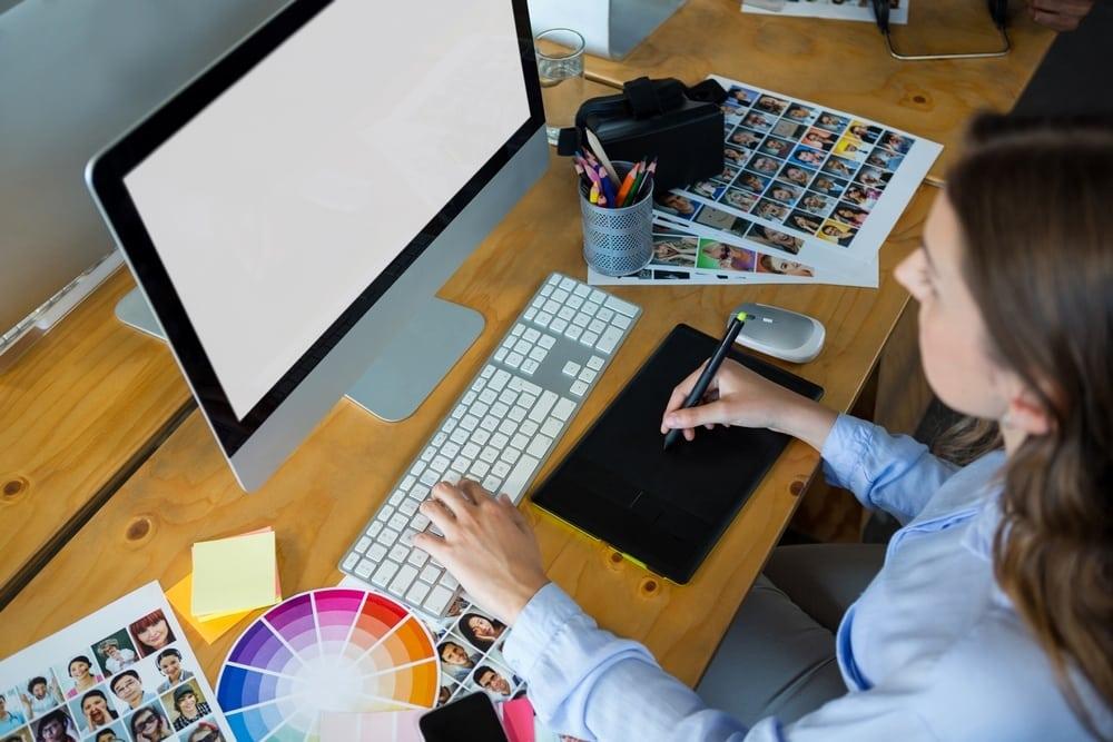 grafik designerin